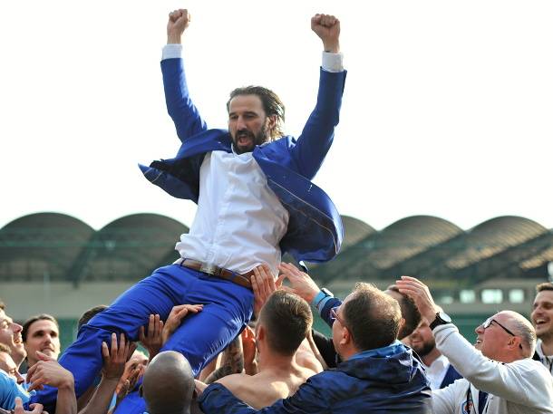 Slovan oslavuje majstrovský titul