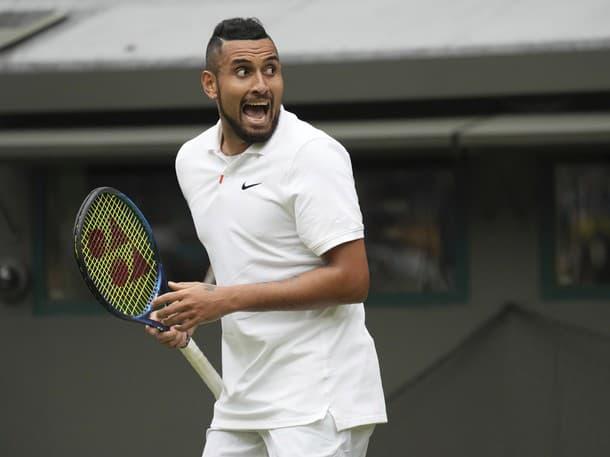 Nick Kyrgios na Wimbledone