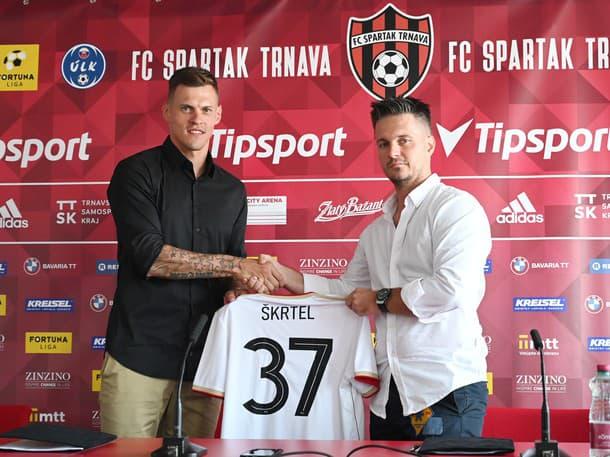Martin Škrtel hráčom FC Spartak Trnava