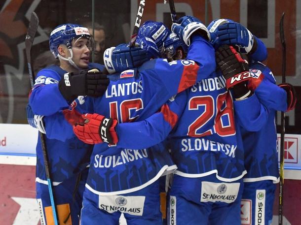 Slovenská gólová radosť