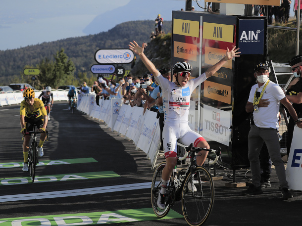 Slovinská šou na Tour de France!
