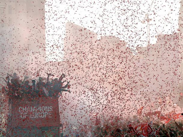 Veľkolepé oslavy v Liverpoole